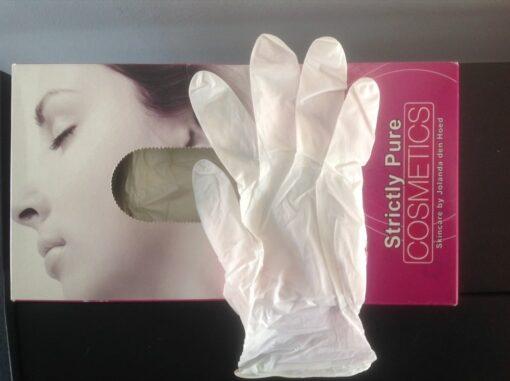 Handschoen soft nitriel s:m:l