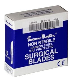 Swann morton mesjes niet steriel 10:15:20