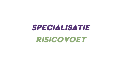 Specialisatie Risicovoet