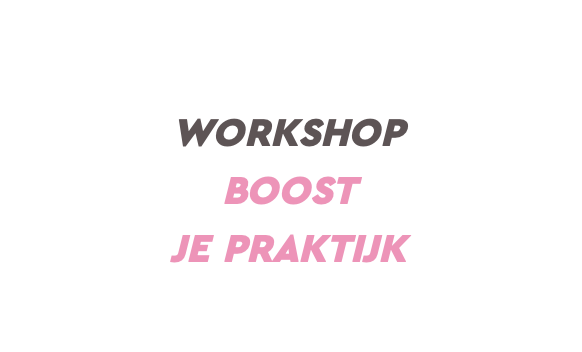 Workshop Boost je Praktijk